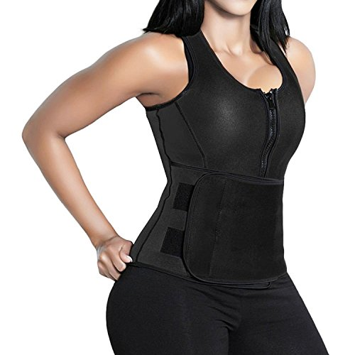 c10a0781a0 CLICK HERE For The Best. Camellias Women s Waist Trainer Trimmer Vest –  Sauna Tank Top Vest with Adjustable Shaper Trainer Belt ...