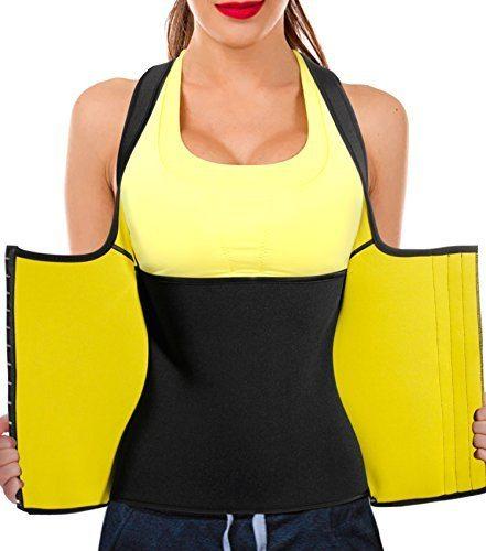 9e56009657 Junlan Womens Shapewear Weight Loss Neoprene Sauna Sweat Waist ...